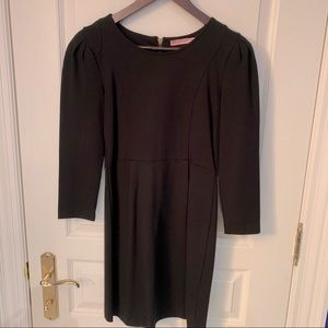 Juicy Couture long sleeve black dress